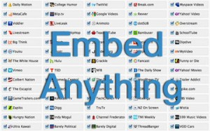 How To Embed Practically Anything On Your Blog or Website