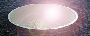 Floating Solar Island Concept