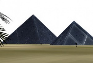 Solar Pyramids to Power Abu Dhabi's Homes