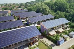 Sonnenschiff Solar City Produces 4X the Energy it Consumes