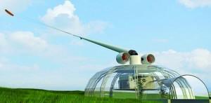 The Kite Wind Generator