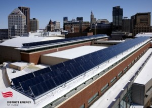 Commercial Solar Hot Water Arrives in the Midwest