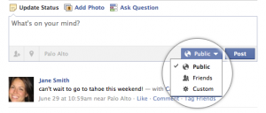 HUGE! Facebook Moves Privacy Settings To Individual Posts, Photos And Profiles; Adds Place Tags