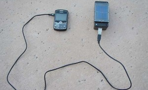 How to make an inexpensive solar powered charger