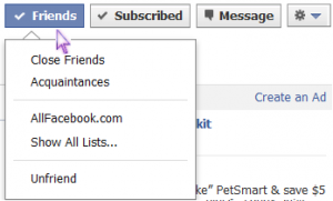 How To Edit Facebook's New Friend Lists