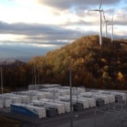No wind? No problem with giant battery bank