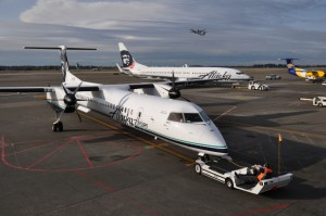 Alaska Airlines flies planes fueled by cooking oil