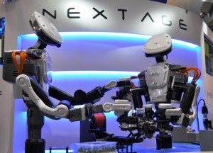 Humanoid plant workers wow crowds at iRex