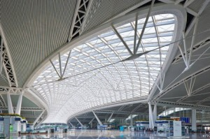 Naturally Daylit Guangzhou South Railway Station is a Critical Stop in China's High Speed Network