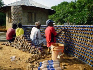 Recycled Plastic Bottle House Built in Nigeria