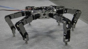 Japanese researchers develop six-legged Asterisk robot that can pick up objects