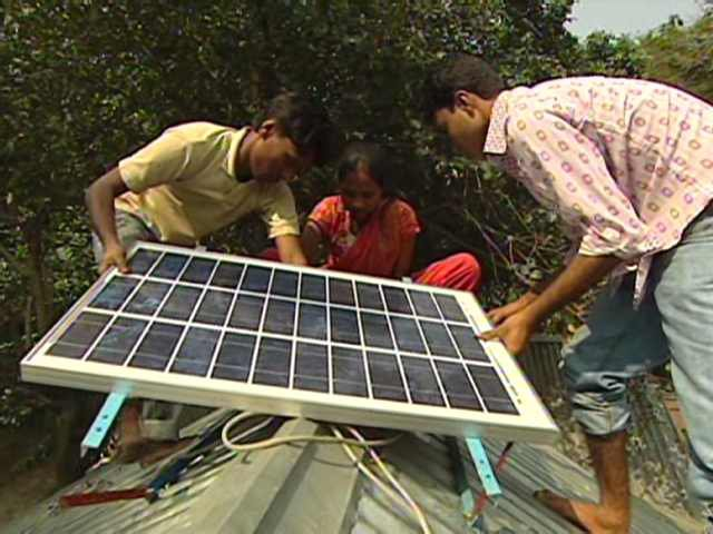 Cheap Solar Home Systems Bringing Light New Opportunities