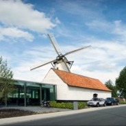 D-Hotel: Historic Belgian Windmill Transformed into a Modern Retreat