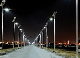 Increased use of solar lights in Karachi