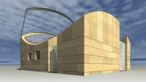 Italy France's 100 percent solar home entry for the 2012 Solar Decathlon