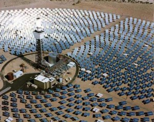 New Concentrated Solar Power Plant Design Reduces Land Use, Increases Efficiency