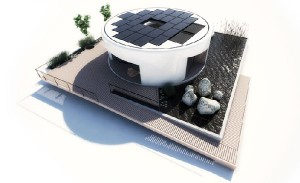 Solar powered homes that will compete in Solar Decathlon Europe 2012
