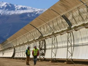 World's largest solar plant powers up