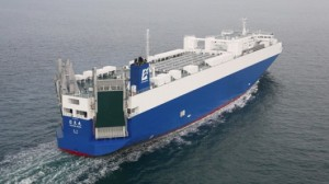 Nissan unveils energy-efficient Nichio Maru car carrier