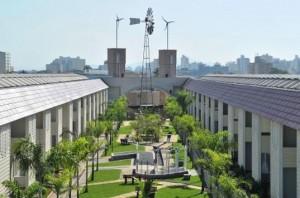 São Paulo's Ecovila Residence Receives Brazil's First Solar Track