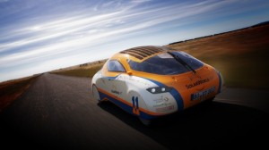 Solar car hits U.S. in round-the-world jaunt
