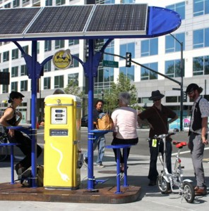 Solar powered battery chargers to help reduce grid energy consumption