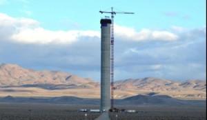 Solar tower will power Las Vegas at night