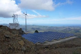 Cap Sommet OPT Telecom site in New Caledonia