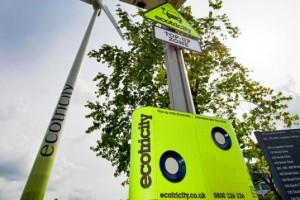 Ecotricity Rolls Out the World's First Wind Powered Car Charger