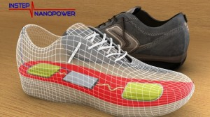 In-shoe device harvests energy created by walking