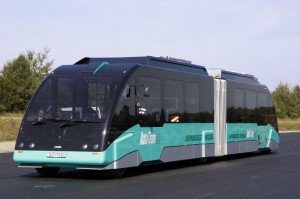Electrically Powered Maneuverable Public Transportation With High Capacity