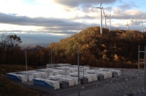 No wind No problem with giant battery bank