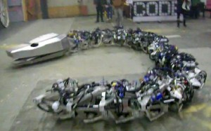 35-Foot Robot Snake Weighs a Ton, Causes Nightmares
