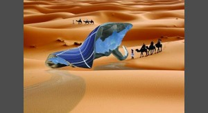 Artificial leaf could grow a layer of ice in desert conditions