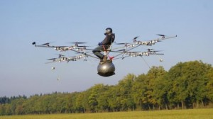 First-ever manned flight of an electric multicopter takes place in Germany