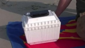 How to make a solar powered can cooler