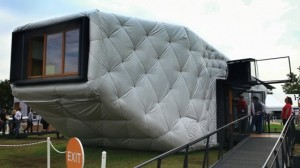 CHIP House powered by solar energy, controlled with Xbox Kinect