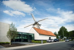 D-Hotel Historic Belgian Windmill Transformed into a Modern Retreat