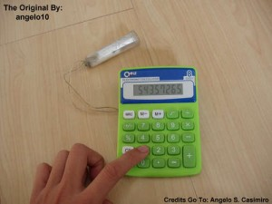 How to Build a Water-Powered Battery for Your Calculator