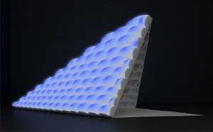 Night Light A sustainable pavilion designed to harvest and transmit sunlight