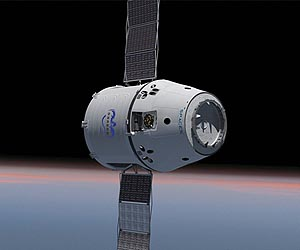 SpaceX Dragon The First Spacecraft Using Solar Panels