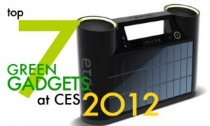 Top 7 Green Gadgets To Debut at This Week's 2012 CES