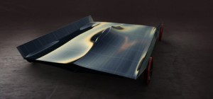 London Designer Creates a Super Futuristic Solar-Powered Concept Car